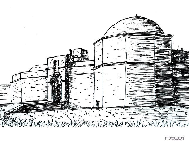 La belle Génoise, M.T. Buhagiar, M.Broca.Fort de Port-Farine, entrée principale