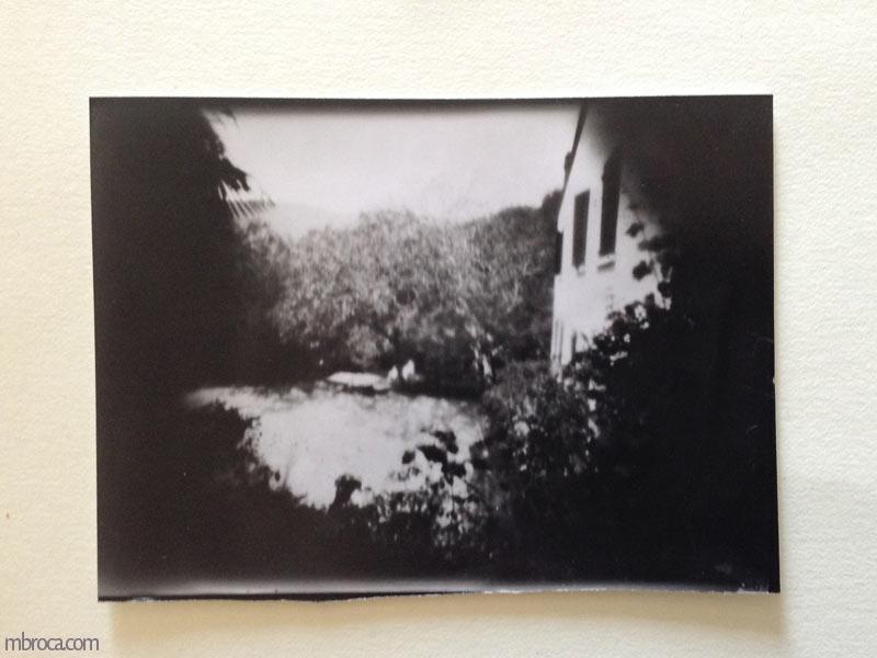 Photographie du mas de la Coume.