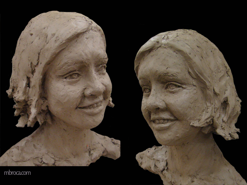 portrait d'une jeune femme qui sourit