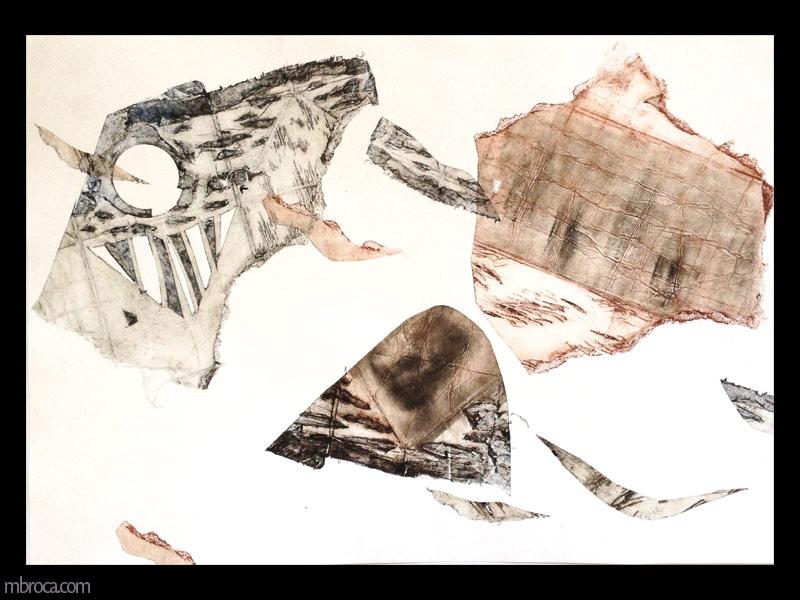 des formes texturées.