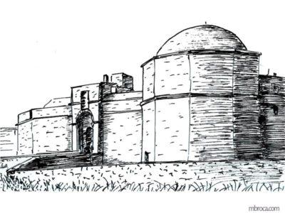 Publications, La belle Génoise, M.T. Buhagiar, M.Broca.Fort de Port-Farine, entrée principale