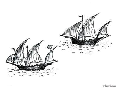 Publications, Deux bateaux, La belle Génoise, M.T. Buhagiar, M.Broca