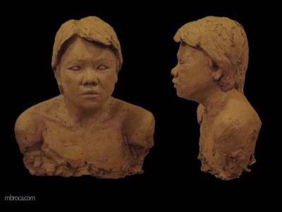 Portrait d'une femme taïwannese.