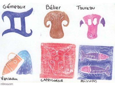 Pédagogie, les signes gémaux, bélier, taureau, verseaux, capricorne, poissons.