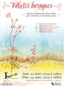 Affiche pour le concert d'Imero