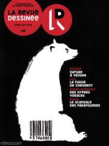 Couverture de la revue dessinée n°18