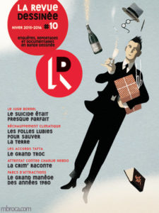 Couverture de la revue dessinée n°10