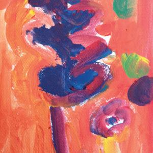 Mélanges des couleurs primaires : deux arbres
