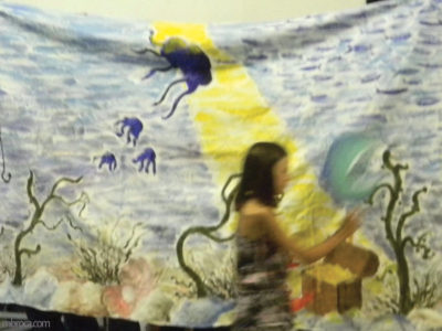 Animation BAFA : décors, scène sous-marine.