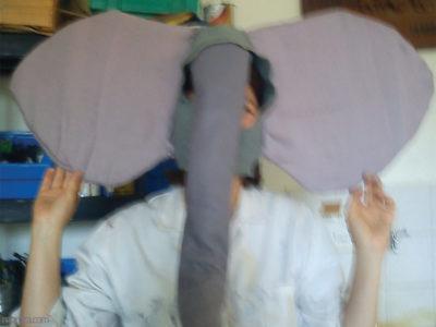 Animation BAFA : déguisement d'éléphant