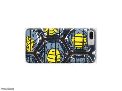 Inprint : Coque de smartphone, des abeilles derrière des barreaux