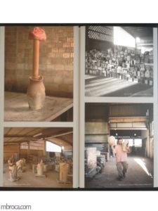 Quatre photographies de l'exposition Bacelo au musées de Céret