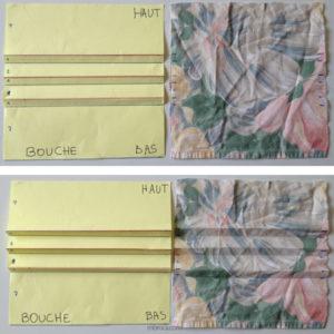 coudre un masque en tissu trois plis avec filtre