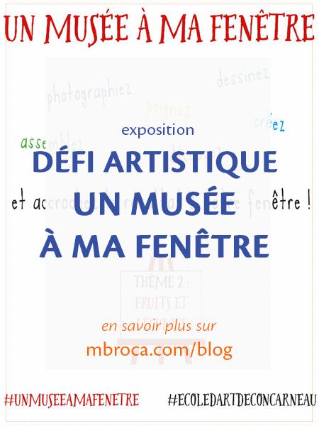 article de blog : un musée à ma fenêtre